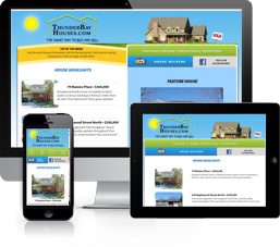 Website for ThunderBayHouses.com